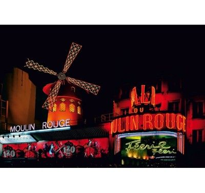 FT 0171 fotomural moulin rouge