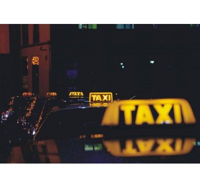FT 0143 fotomural taxis